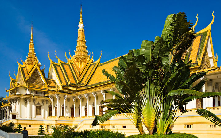 Grand Palace, Pnom Penh, Cambodia.