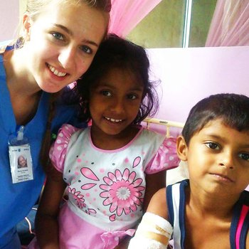 On the Paediatric Ward in Sri Lanka